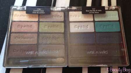 Wet n wild palette comfort zone e blue had me at hello