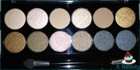 MUA Undressed Palette flash