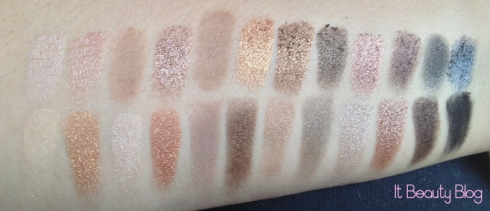 Naked 1 x Naked 2 swatch