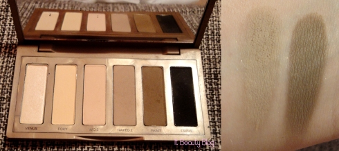 Naked Basics urban decay sombra marrom