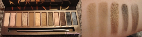 Naked Urban Decay marrons