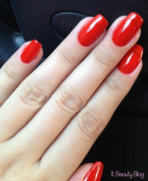 Revlon Top Speed Chili unhas