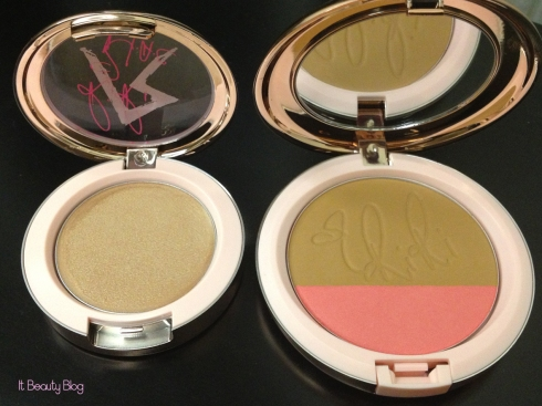 Riri hearts MAC Cream Colour Base Diamonds e Powder Blush Hibiscus Kiss