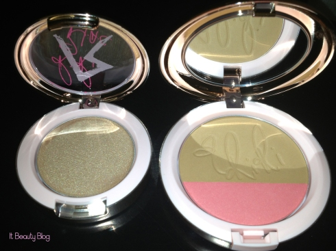 Riri hearts MAC Powder Blush  Cream Colour Base flash