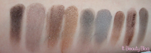 sombras marrons mia swatch
