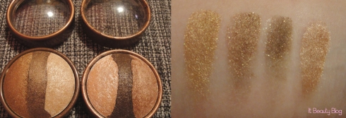 Stila baked eyeshadow marrons