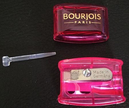 Apontador Bourjois detalhes