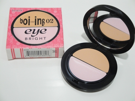 Benefit booing eye bright embalagem