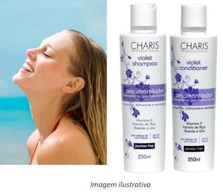 charis violet shampoo