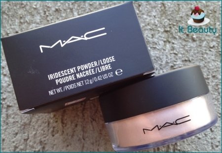 MAC Silver Dusk highlighter iridescent powder