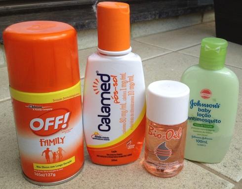 post verão cuidados pele repelente calmante bio oil
