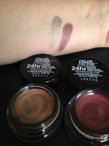 Color tattoo maybelline bad to the bronze e pomegranate punk swatcj flash