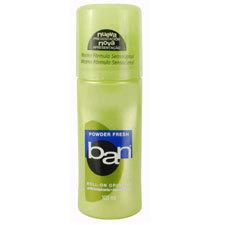 desodorante ban rollon scented
