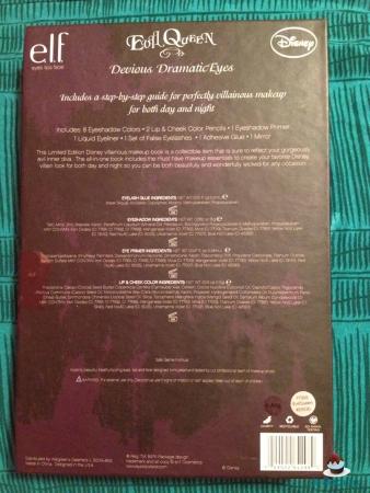 Evil Queen paleta disney ELF details