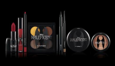 MAC Disney Maleficent batom face labios sombras