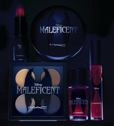 MAC Disney Maleficent imagem produtos campanha