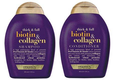 organix biotin and collagen