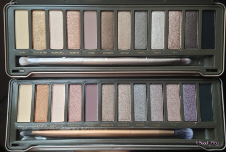 Urban Decay Naked 2 x replica sombras eyeshadow