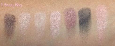 Vult Kit Vintage paleta sombras e blush swatch