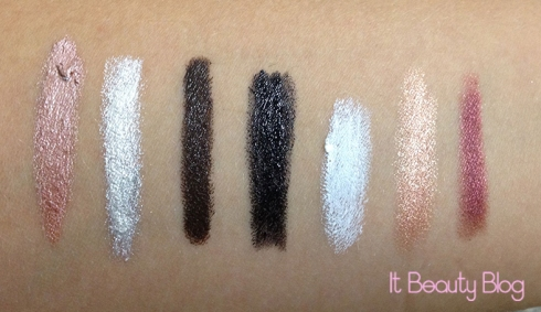 NYX JUMBO Yogurt, Cottage Cheese, Dark Brown, Black Bean, Milk, Sparkle Nude e Rust