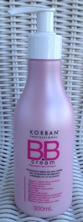 Korban professional bb cream hair