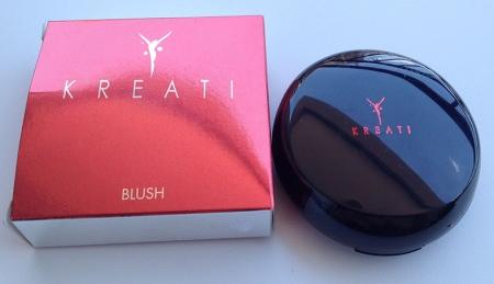 Kreati blush bronzeador embalagem