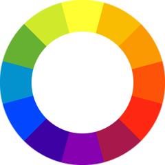 paleta cores complementares