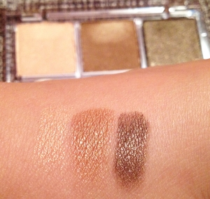 VS ultimate look eyeshadow palette swatch