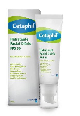 CETAPHIL  Hidratante Facial Diário com FPS50 50ML [bisnaga caixa]