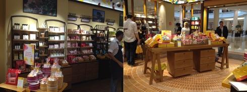 L'Occitane en Provence dia das mães higienópolis detalhe loja