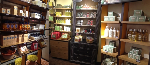 L'Occitane en Provence dia das mães higienópolis overview loja