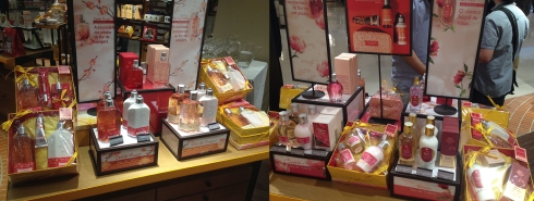 L'Occitane en Provence kits presentes