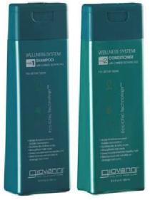Giovanni shampoo e condicionador