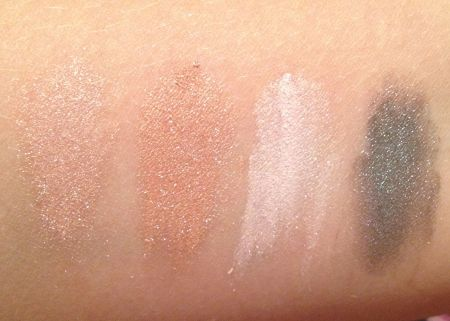 L'Oreal Bare Naturale eyeshadow swatch