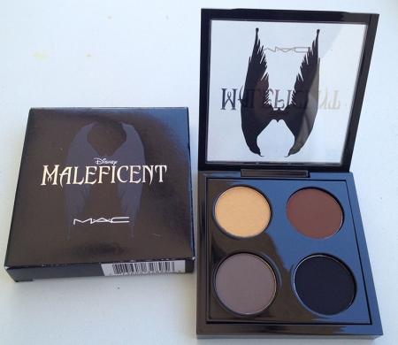 MAC MAleficent eyeshadow paleta