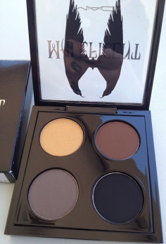 MAC MAleficent eyeshadow quad Palette