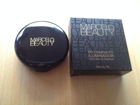 Marcelo Beauty pó compacto iluminador Lumina