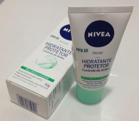 Nivea hidratante protetor controle de brilho