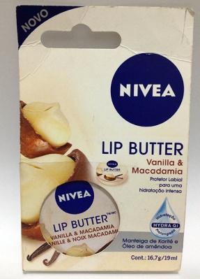 Nivea Lip butter vanilla e macadâmia lipbalm