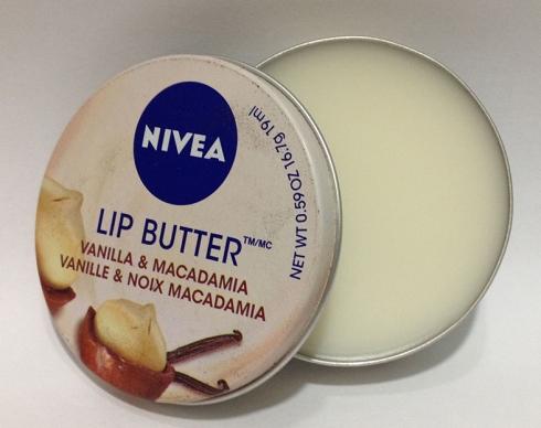 Nivea Lip butter vanilla e macadâmia