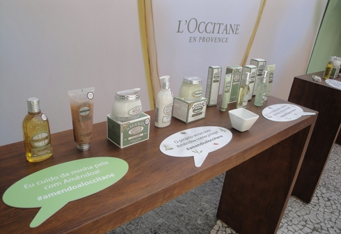 loccitane amendoa evento SP