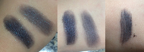 Maybelline Color Tattoo Pure Pigments Black Mystery swatch