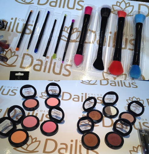 Beauty Fair 2014 Dailus blush pincel