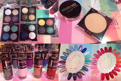 Beauty Fair 2014 koloss esmalte sombras
