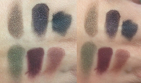 Contem 1G color me paletas sombras swatches