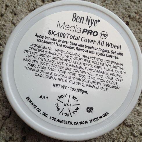 Ben Nye Concealer wheel corretivo profissional