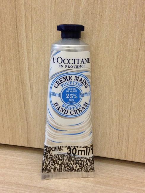creme hidratante mãos Loccitane Provence whipped chantilly karite