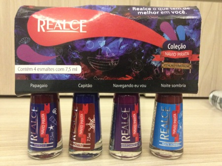 Dailus Realce Beauty Fair 2015 esmalte navio pirata