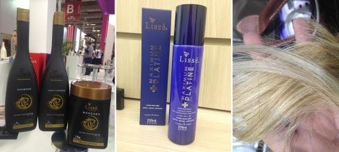 Lissé Beauty Fair lançamento cabelo loiro desamarelador shampoo cavalo